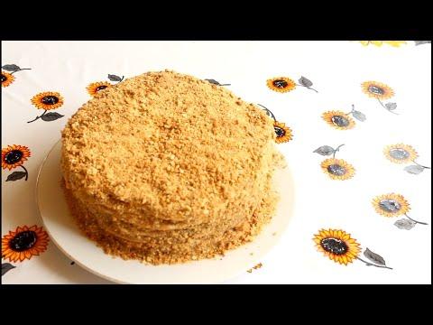 Торт кремовый (простой и вкусный)