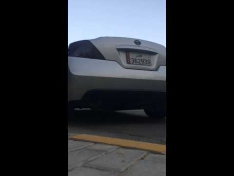3.5 Altima Coupe TOP SPEED PRO 1 Exhaust