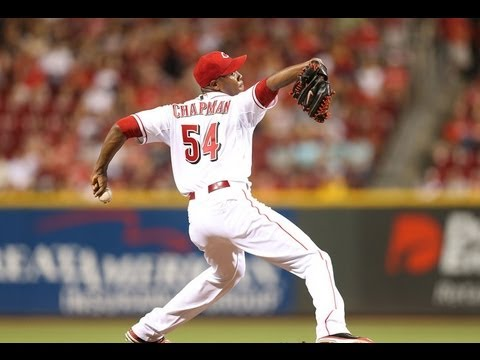 Aroldis Chapman 2012 Highlights