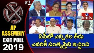 Debate on Exit Poll Results 2019 India #2 | hmtv