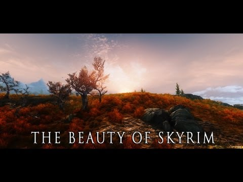 The Beauty of Skyrim   Project MATSO ENB