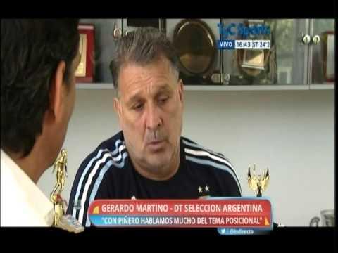 Entrevista a Gerardo Martino
