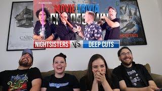 Night Sisters Vs. Deep Cuts REACTION - Movie Trivia Schmoedown