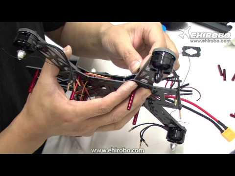 eHIROBO.com Building the CopterX QAV 250 Mini Racing Drone Quadcopter