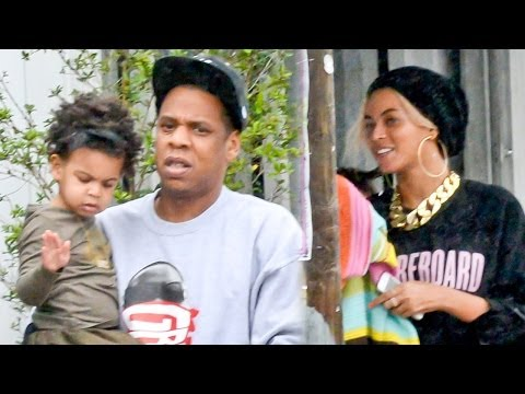 Beyonce and Jay-Z Celebrate Blue Ivy's Birthday at the Zoo! PHOTOS!