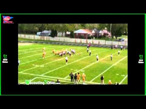 2013 Tevan Ray - John Adams High School - Sr yr - LB27