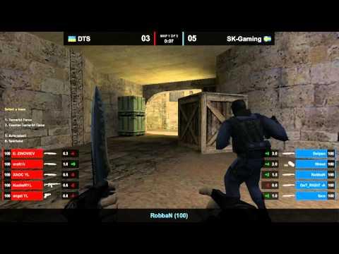 DTS vs. SK Dust2 WCG 2011