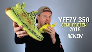 The Worst Yeezy: Semi Frozen Yeezy Boost 350 V2 2018 Review
