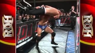 ROH WORLD TITLE: RODERICK STRONG VS EDDIE EDWARDS (3/19/11 MANHATTAN MAYHEM IV)