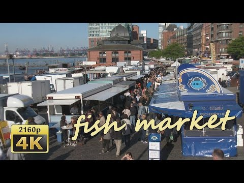 Hamburg, Fischmarkt - Germany 4K Travel Channel