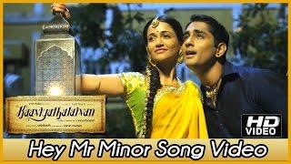 Thalaivan - Kaaviya Thalaivan Tamil Movie - Hey Mr Minor Song Video   Siddharth   Prithviraj   Vedhicka   Anaika