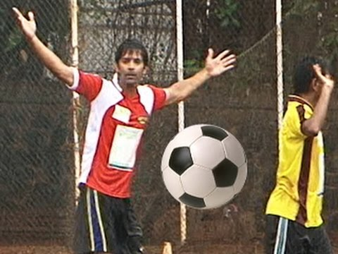 Barun Sobti's aka Arnav's FOOTBALL MATCH for CHARITY 18th June 2012