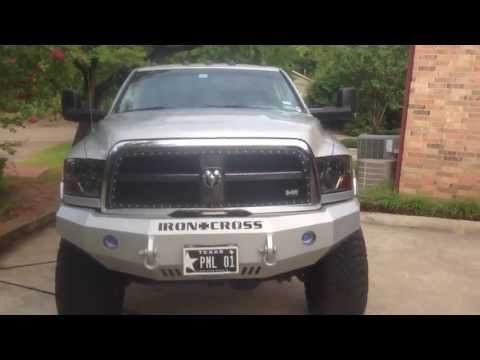 Lifted 2011 Ram 6.7L EGR/DPF delete with H&S Minni max