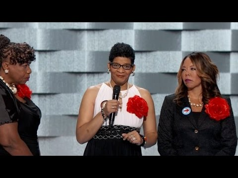 Mothers take stage at DNC to 'Black Lives Matter...