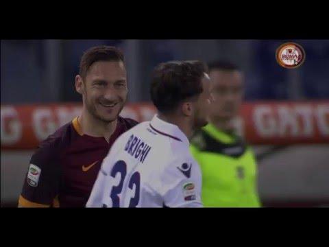 Francesco Totti vs Bologna home HD 1080p 60fps (11-04-2016) By THZ Videos