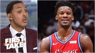 By losing Jimmy Butler, the 76ers took a step back in the East – Ryan Hollins | First Take
