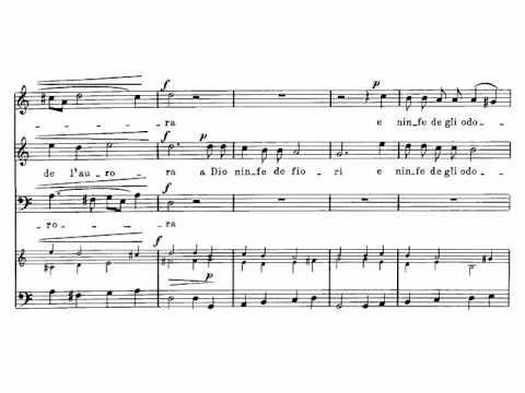 Монтеверди Клаудио - Vaga su spina ascosa