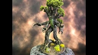 How to paint the Wizkids Treant miniature.
