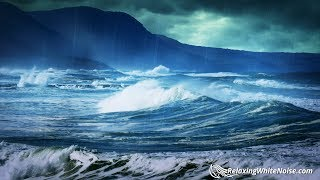 Rain Sounds For Relaxation With Ocean Waves Sleep Or Study With Nature White Noise 10 Hours