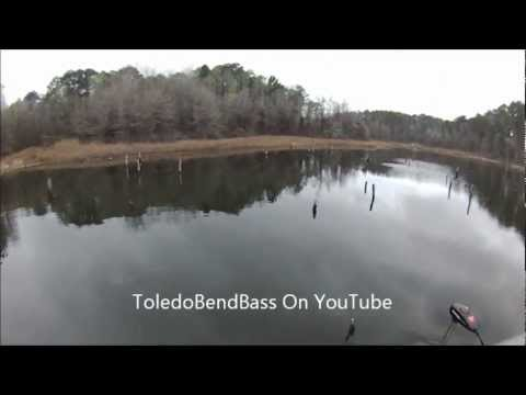 Spring Bass Fishing Toledo Bend Mar 8 2012