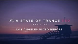 A State of Trance 550: Los Angeles video report