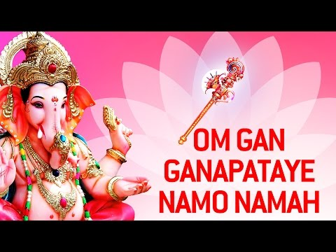 Best Ganpati Mantra By Suresh Wadkar | Om Gan Ganpataye Namah Chants video