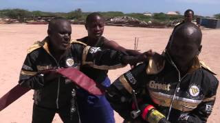 AMISOM Beyond the Frontline: Somali Fire Fighters