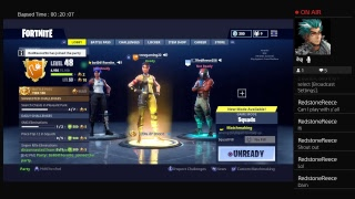 Ghost host Live fortnite gameplay