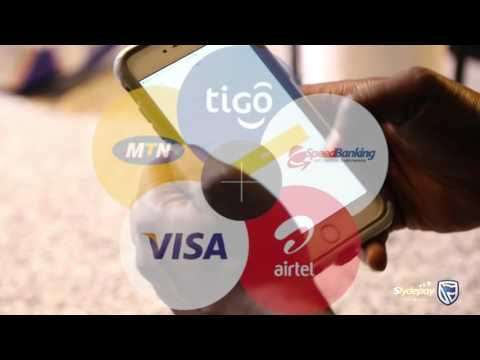Curr3ncy and Gino in Slydepay advert from Stanbic Bank Ghana
