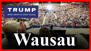 LIVE Donald Trump Wausau Wisconsin Rally Town Hall Central Convention Expo Center FULL SPEECH HD ✔