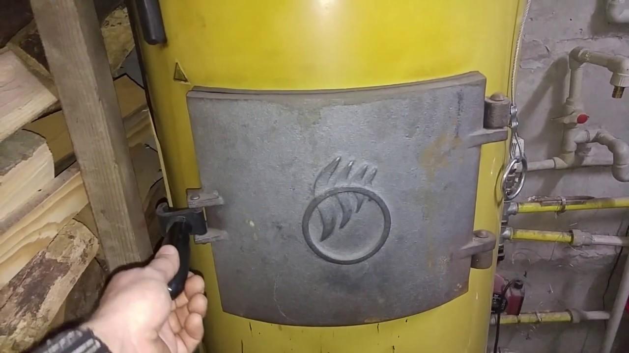 Чистка твердотопливного котла своими руками