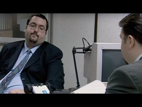 Big Keith's appraisal – The Office – BBC