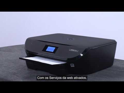 Obter o código de solicitação da impressora para a conta do HP Connected em impressoras de toque HP