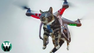 10 STUPID Things People Have Done with DRONES!