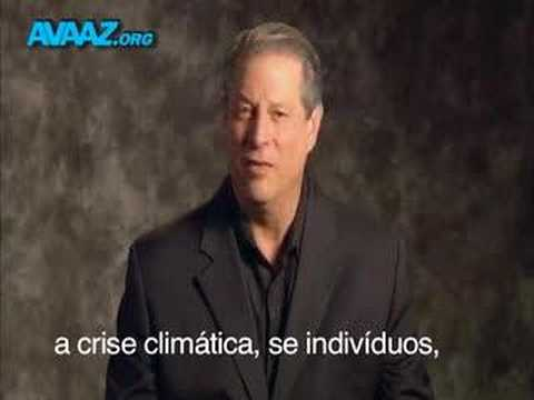 Al Gore/Avaaz/Live Earth Message - Português