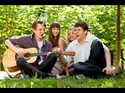 Лагерные песни - Четверо друзей