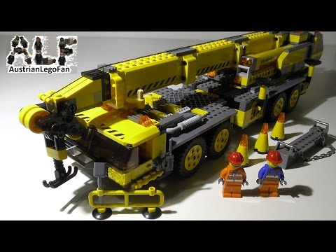 Lego City 7249 XXL Mobile Crane / Mobiler Baukran - Lego Speed Build