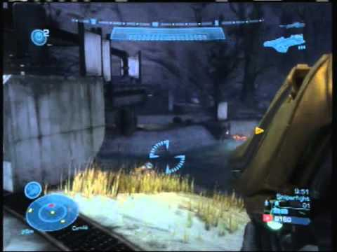 Halo Reach Perfect Game Firefight Tips on Sniperfight Waterfront