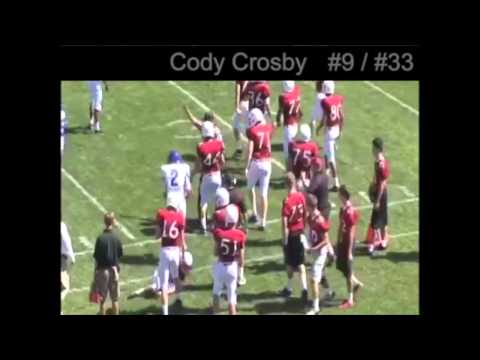 Cody Crosby- Albuquerque Academy Football Class of 2015