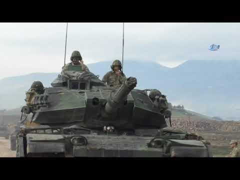 Tanklar Alkış ve Sloganlar Eşliğinde Afrin'e İlerliyor