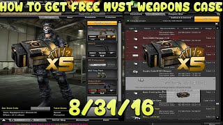 Combat Arms FREE MYST WEAPONS CASE!
