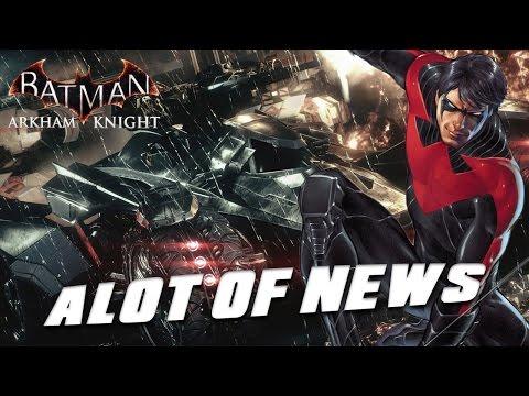 Batman Arkham Knight - Skins. Trophies. DLC. NEWS ROUNDUP