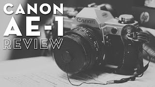 Canon AE-1 35mm Film Camera Review