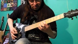 "Dimmu Borgir - Kings Of The Carnival Creation ""Francisco Guitar Cover"""