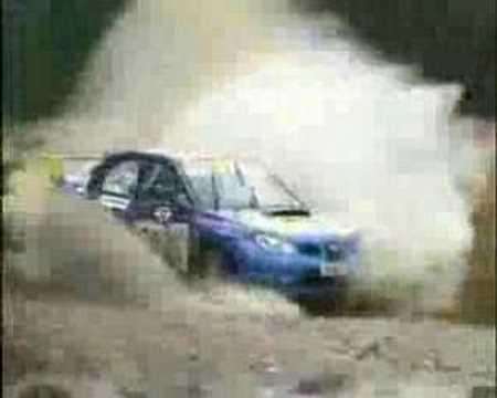 Rally - Trompo en carrera y se olvida de copiloto