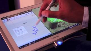 Samsung Galaxy Note 10.1 (800) Hands-on