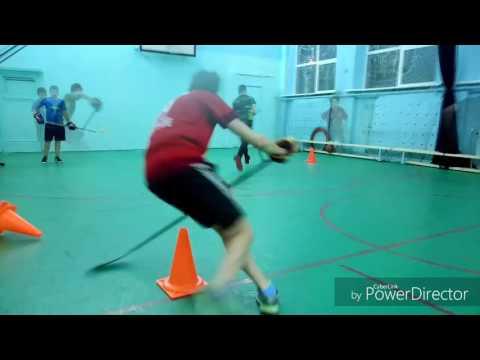 Тренировка хоккеистов на специальную выносливость и координацию движения. X-Hockey PRO.