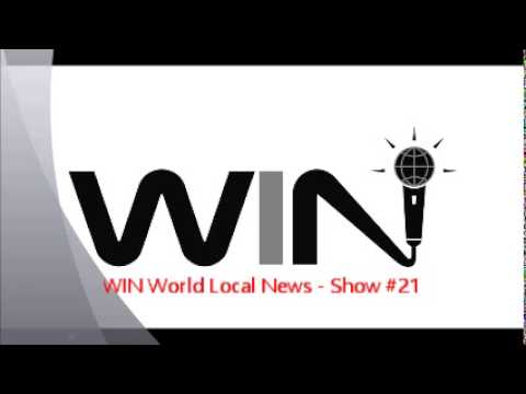 WIN Show #21 - WIN WORLD LOCAL NEWS - Did George Clooney Really Get Married?!