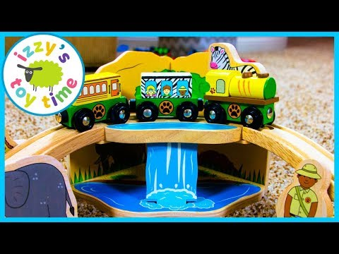Bigjigs Safari Train Set! Thomas and Friends Fun Toy Trains for Kids
