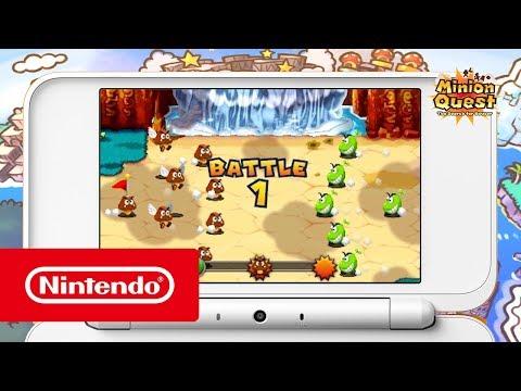 Mario & Luigi: Superstar Saga + Bowser's Minions - Minion Trailer (Nintendo 3DS)